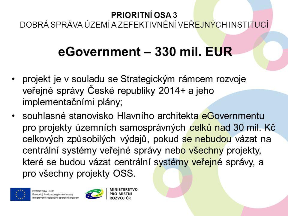 Dobrá správa území a zefektivnění veřejných institucí
