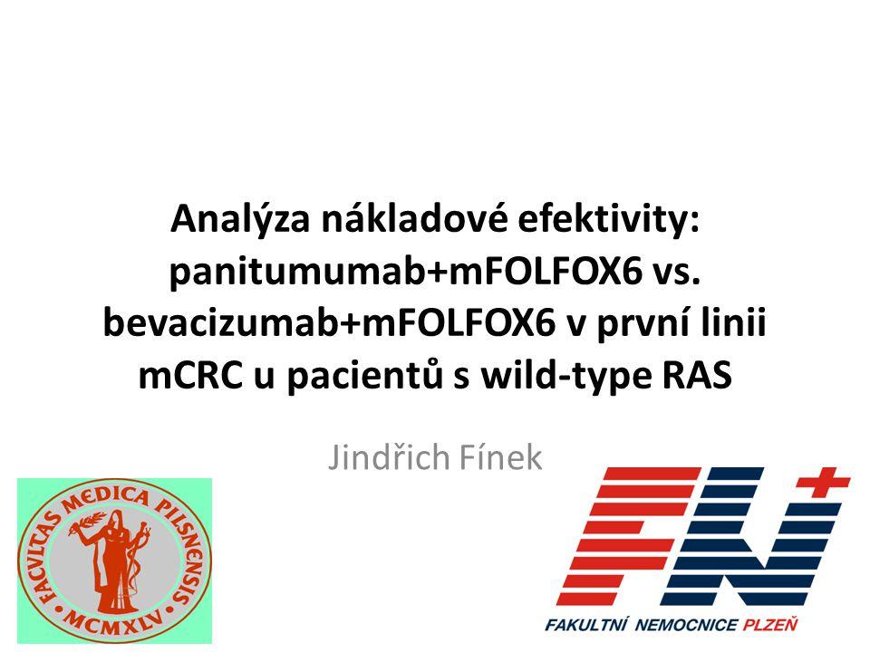 Analýza nákladové efektivity: panitumumab+mFOLFOX6 vs