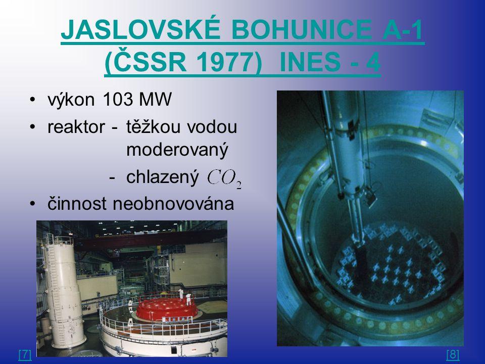 JASLOVSKÉ BOHUNICE A-1 (ČSSR 1977) INES - 4