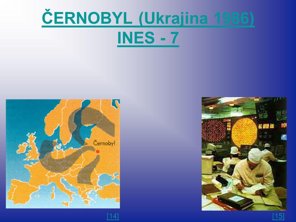 ČERNOBYL (Ukrajina 1986) INES - 7