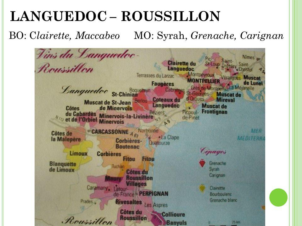 LANGUEDOC – ROUSSILLON