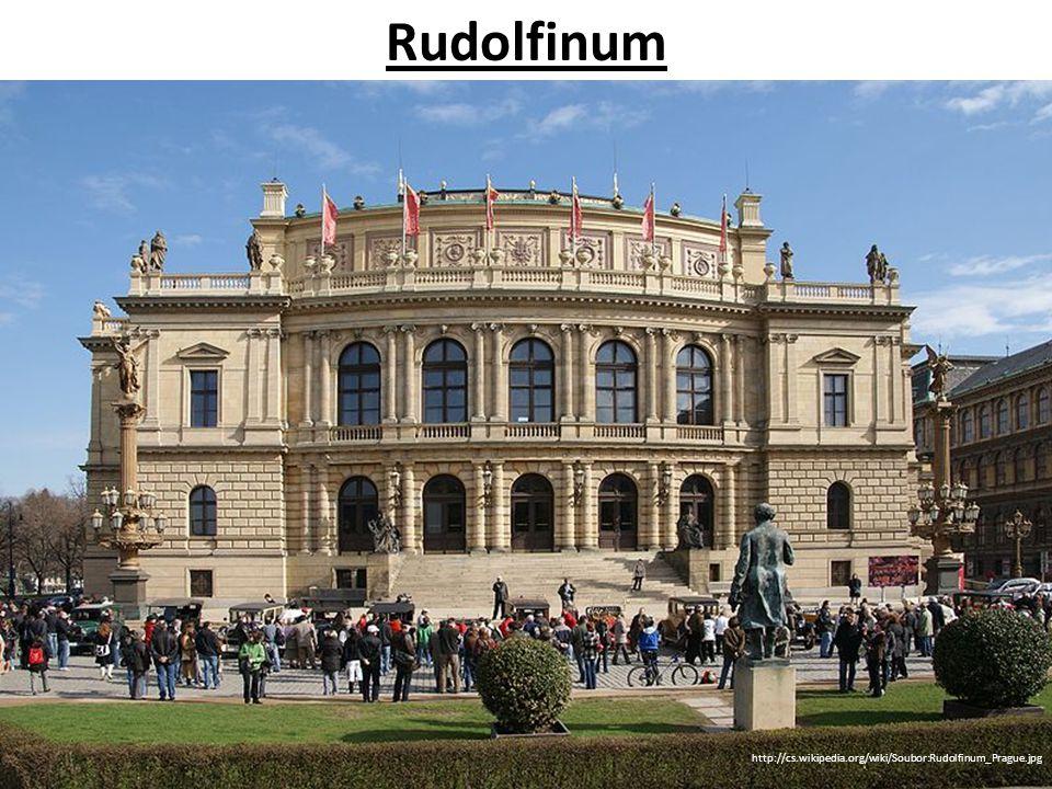 Rudolfinum http://cs.wikipedia.org/wiki/Soubor:Rudolfinum_Prague.jpg