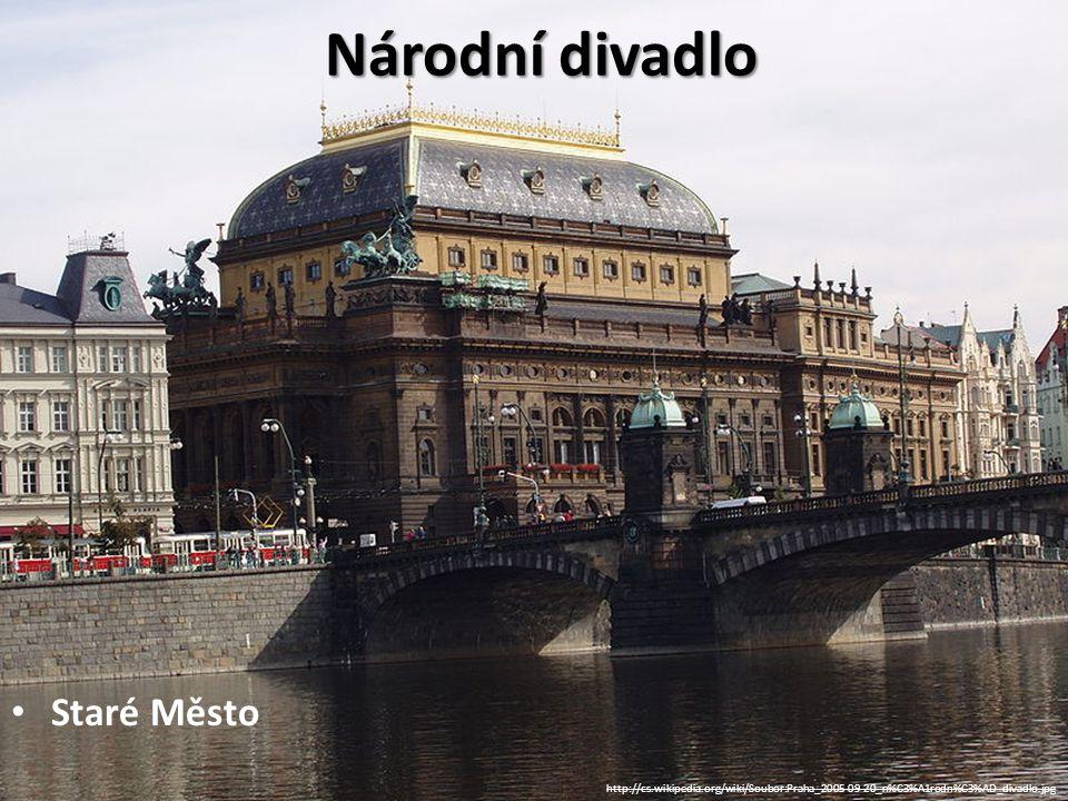 Národní divadlo Staré Město