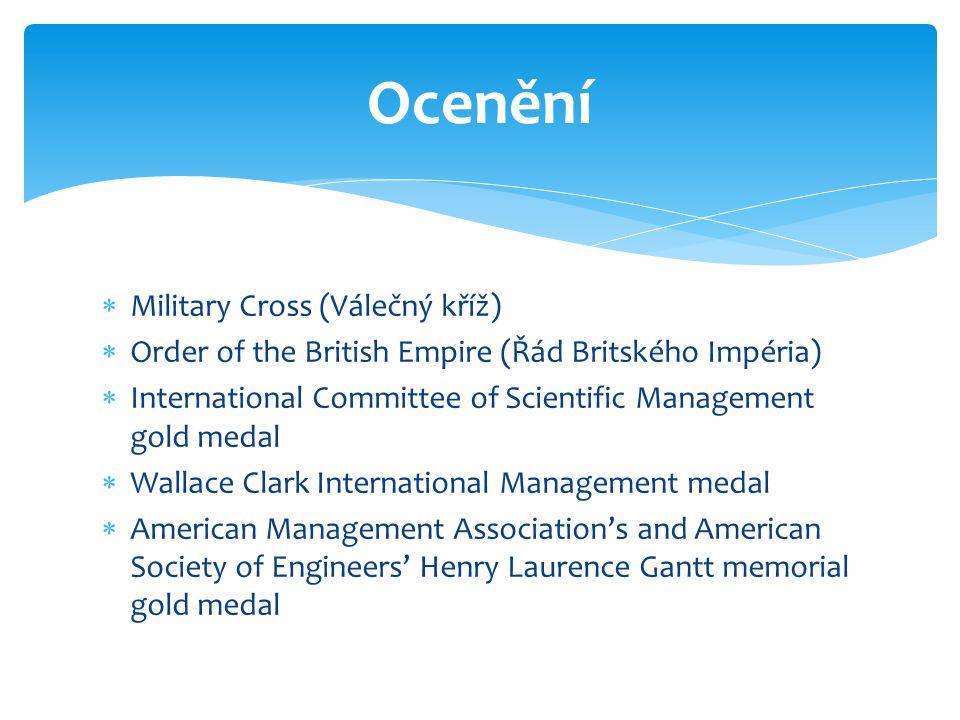 Ocenění Military Cross (Válečný kříž)