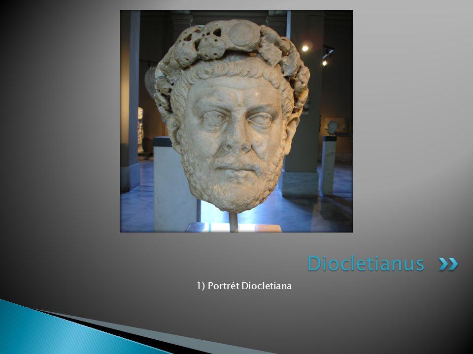 Diocletianus 1) Portrét Diocletiana