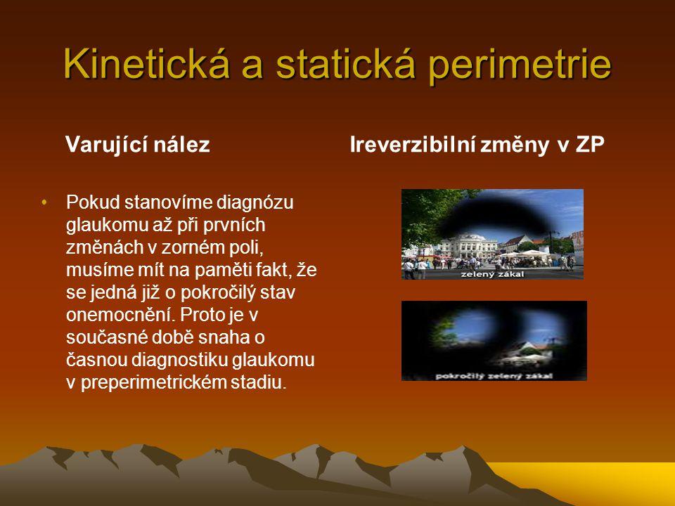 Kinetická a statická perimetrie