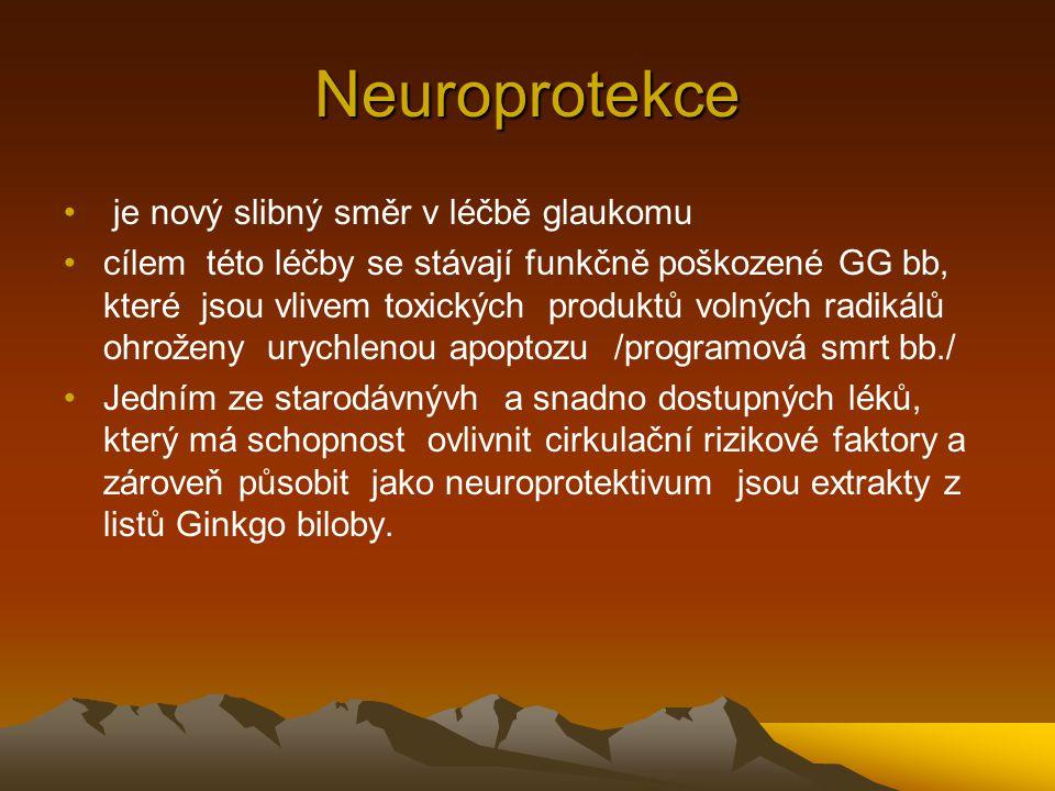 Neuroprotekce je nový slibný směr v léčbě glaukomu