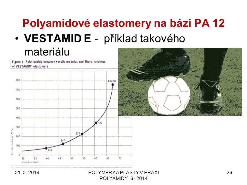 Polyamidové elastomery na bázi PA 12