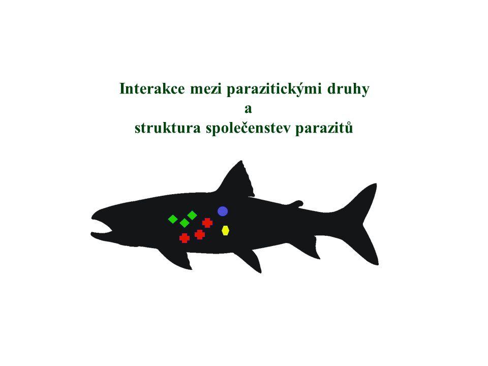 Interakce mezi parazitickými druhy a struktura společenstev parazitů