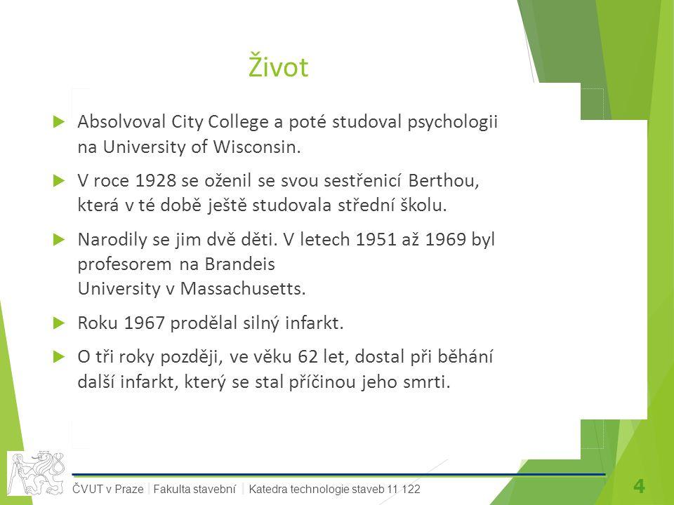 Život Absolvoval City College a poté studoval psychologii na University of Wisconsin.