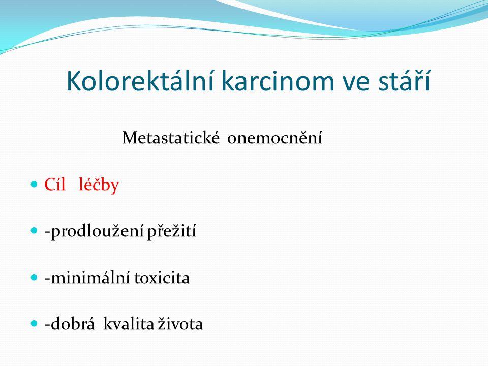 Kolorektální karcinom ve stáří