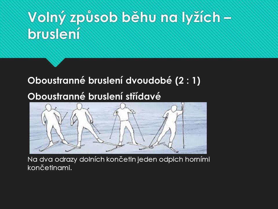Volný způsob běhu na lyžích – bruslení