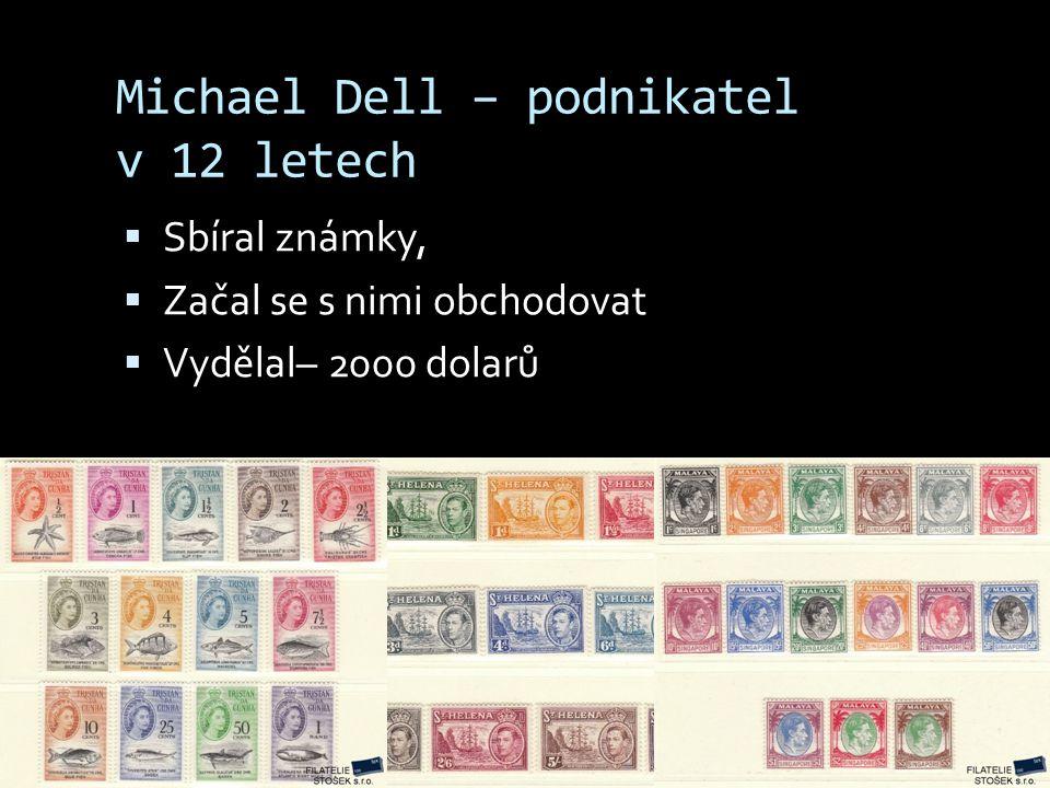 Michael Dell – podnikatel v 12 letech