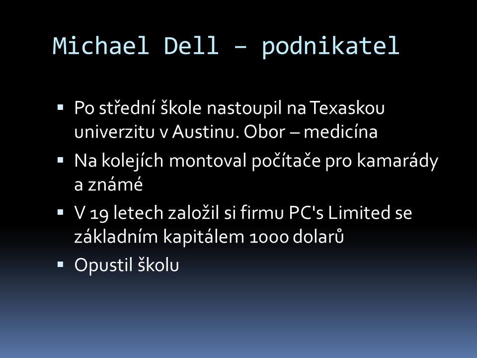 Michael Dell – podnikatel