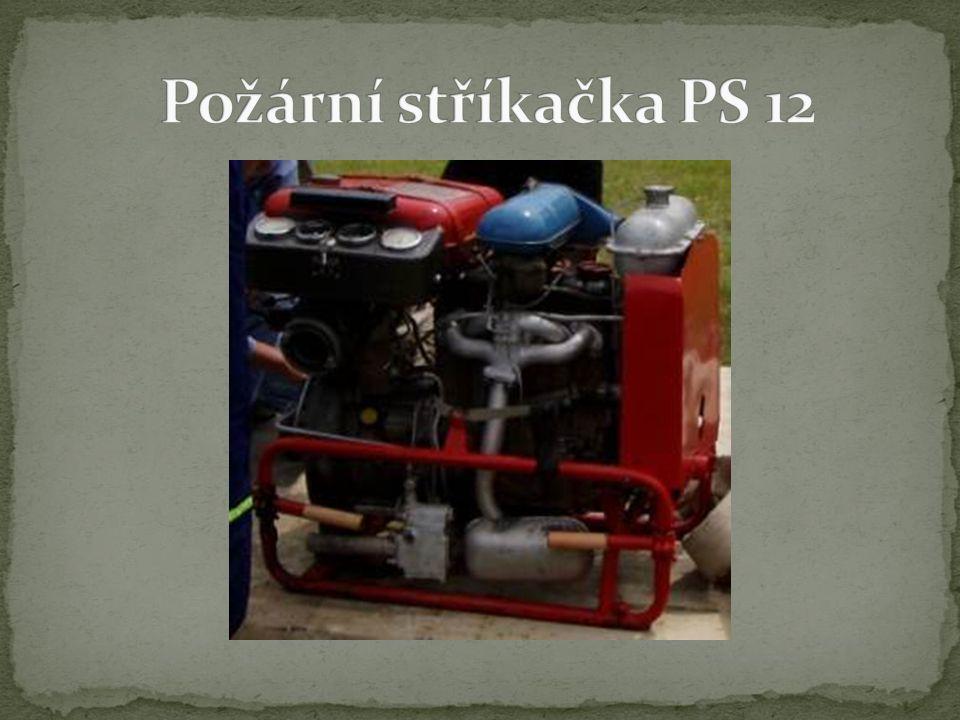 Požární stříkačka PS 12