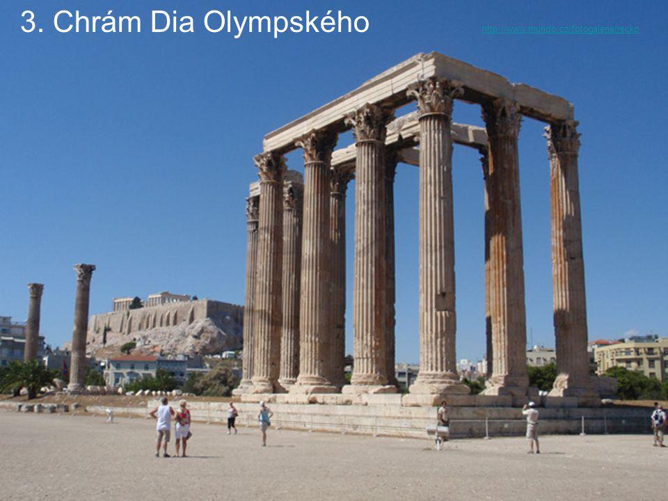 3. Chrám Dia Olympského http://www.mundo.cz/fotogalerie/recko