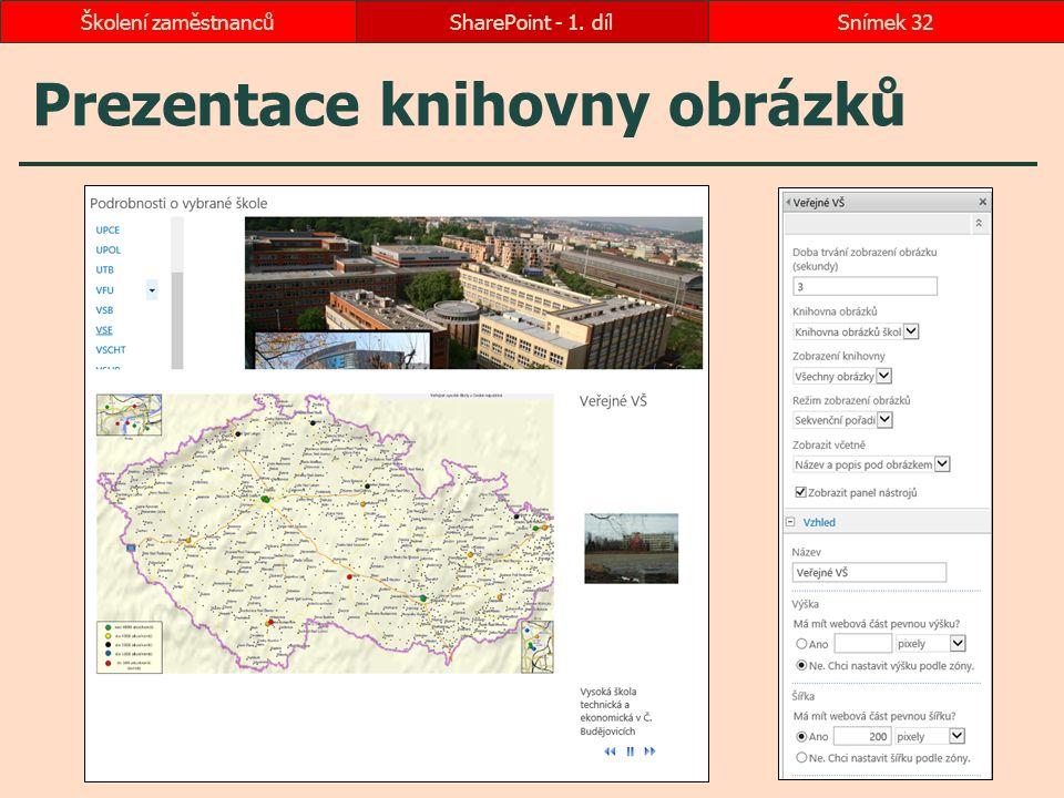 Prezentace knihovny obrázků