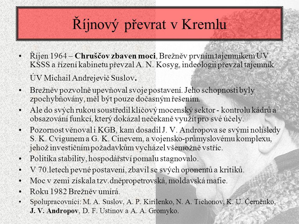 Říjnový převrat v Kremlu