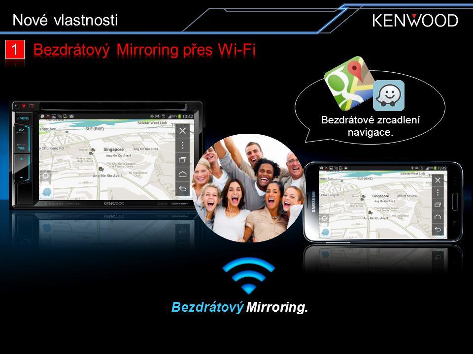 Bezdrátový Mirroring přes Wi-Fi