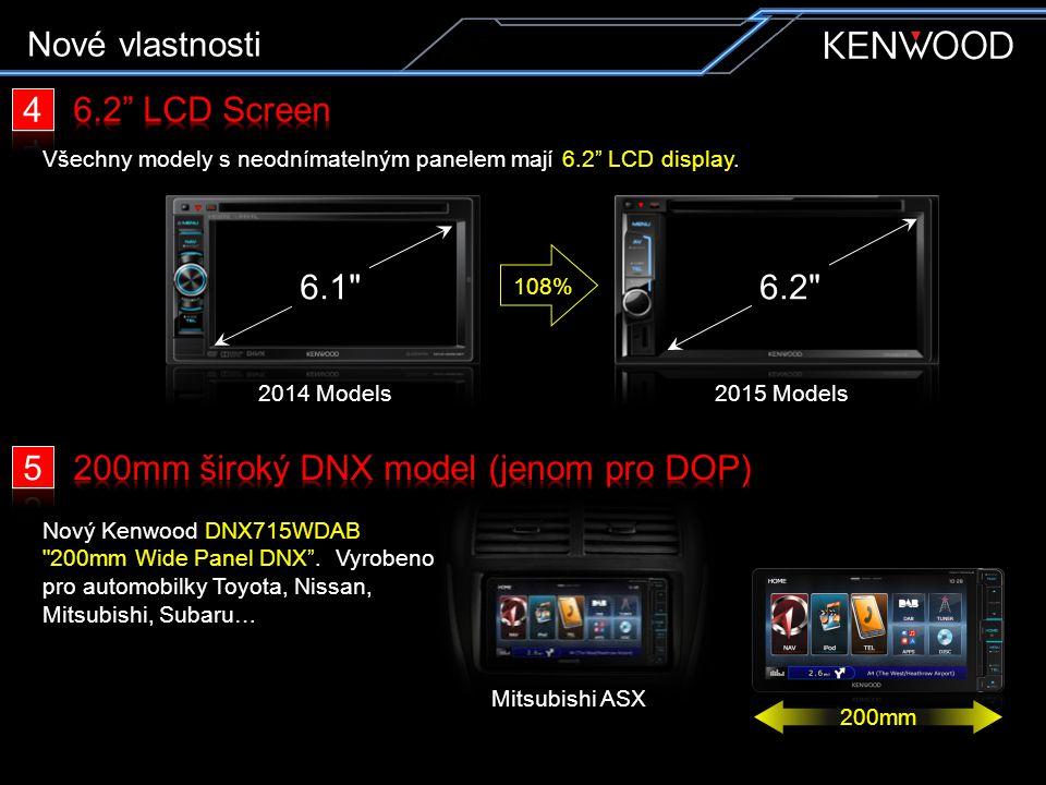 + = Nové vlastnosti 6 OEM Display in / Out 7
