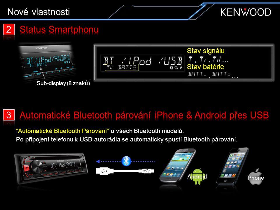 Kvalitní zvuk Bluetooth Handsfree
