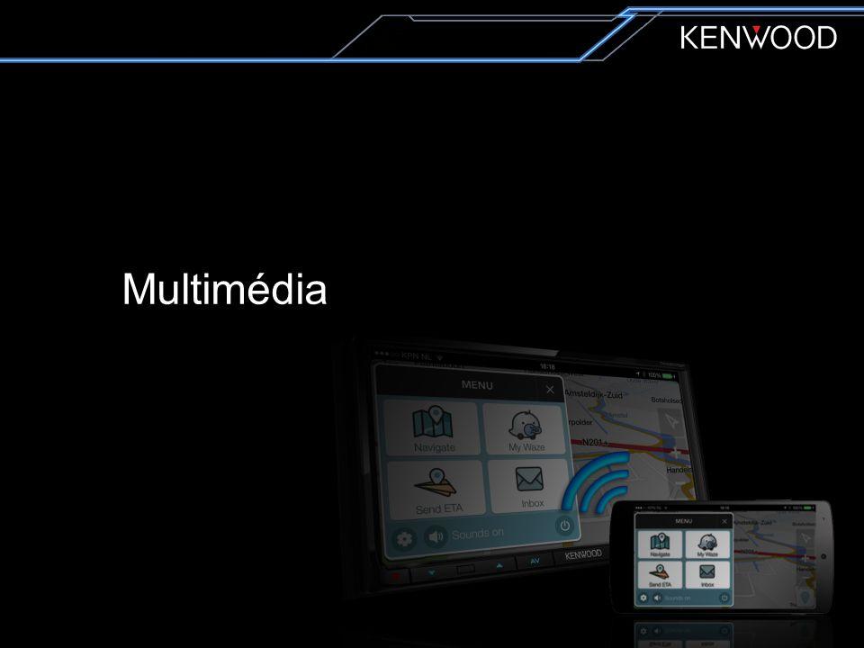 Multimedia DDX3015 Fixed panel Entry AV Receiver