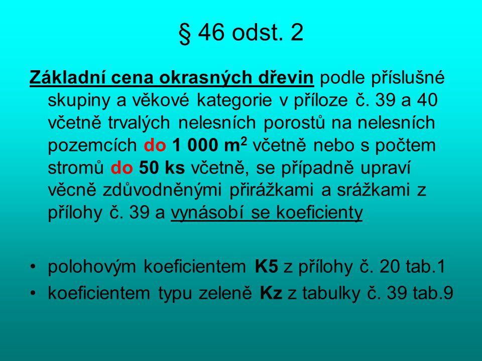 § 46 odst. 2