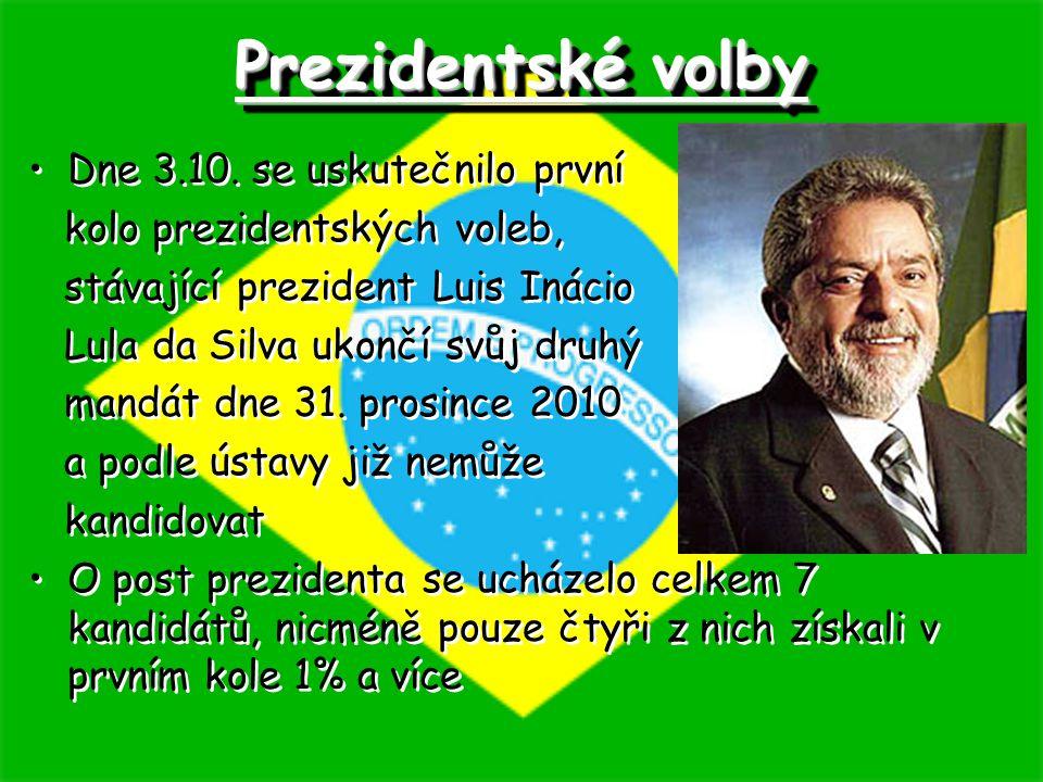 Prezidentské volby Dne 3.10. se uskutečnilo první