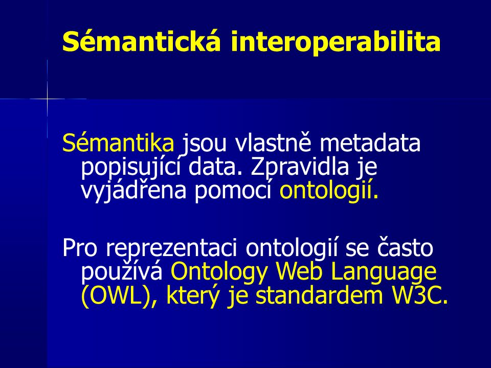 Sémantická interoperabilita