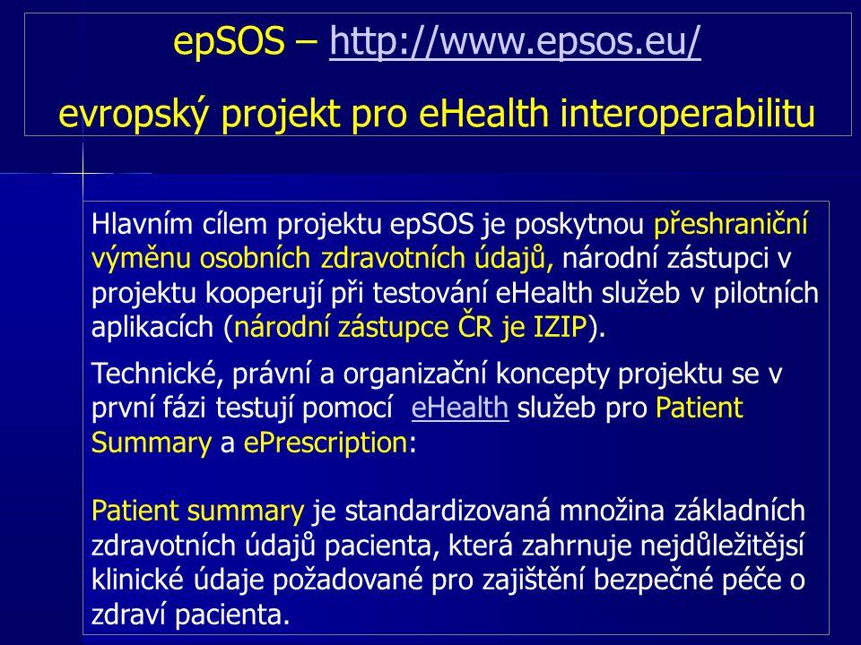 epSOS – http://www.epsos.eu/