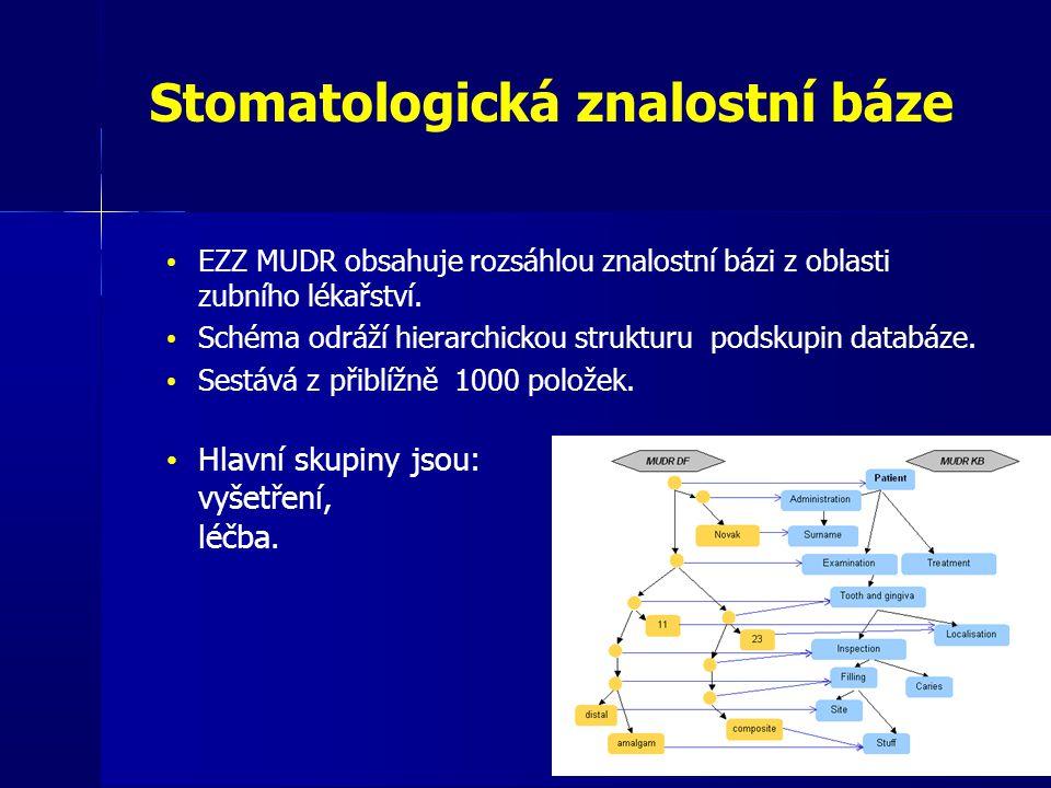 Stomatologická znalostní báze