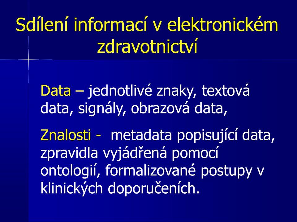 Sdílení informací v elektronickém zdravotnictví