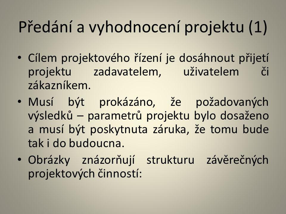 Předání a vyhodnocení projektu (1)