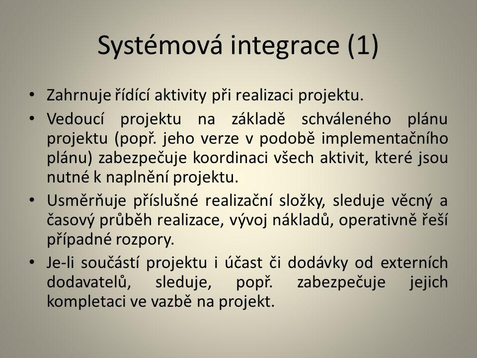 Systémová integrace (1)