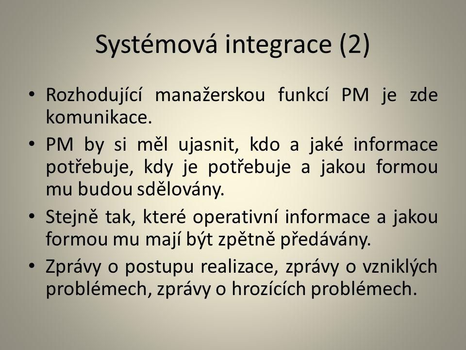 Systémová integrace (2)