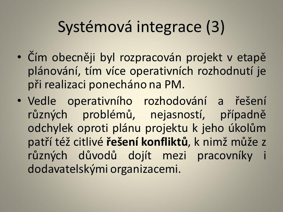 Systémová integrace (3)