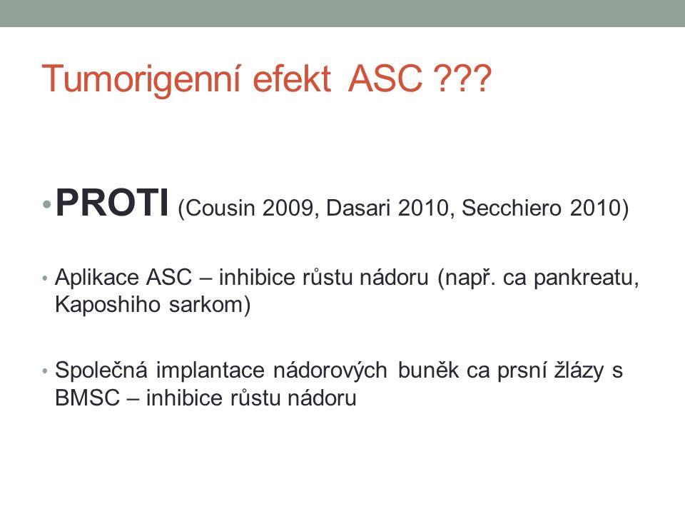 PROTI (Cousin 2009, Dasari 2010, Secchiero 2010)