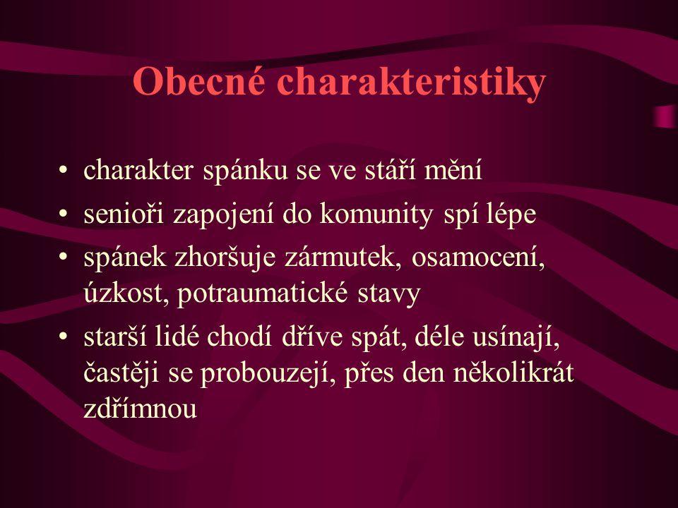 Obecné charakteristiky