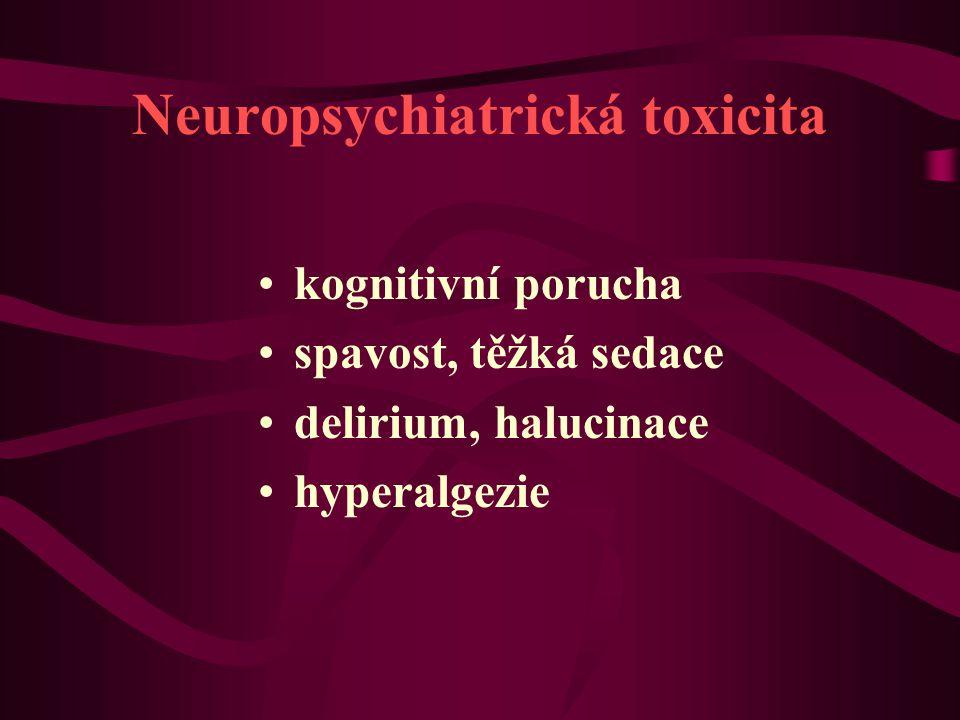 Neuropsychiatrická toxicita