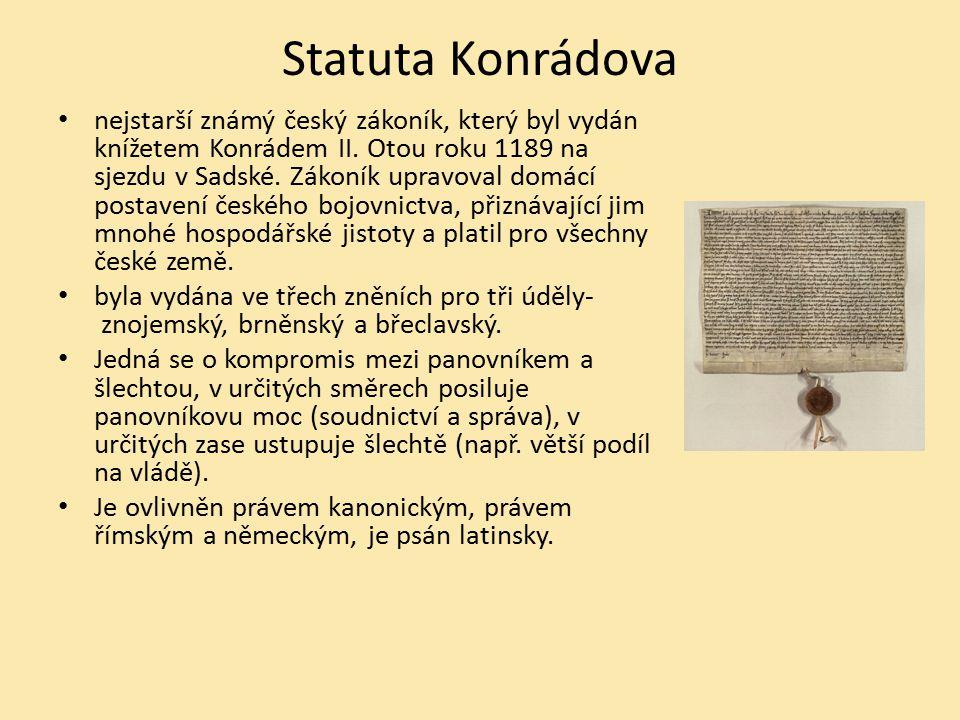 Statuta Konrádova