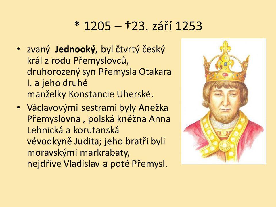 * 1205 – †23. září 1253