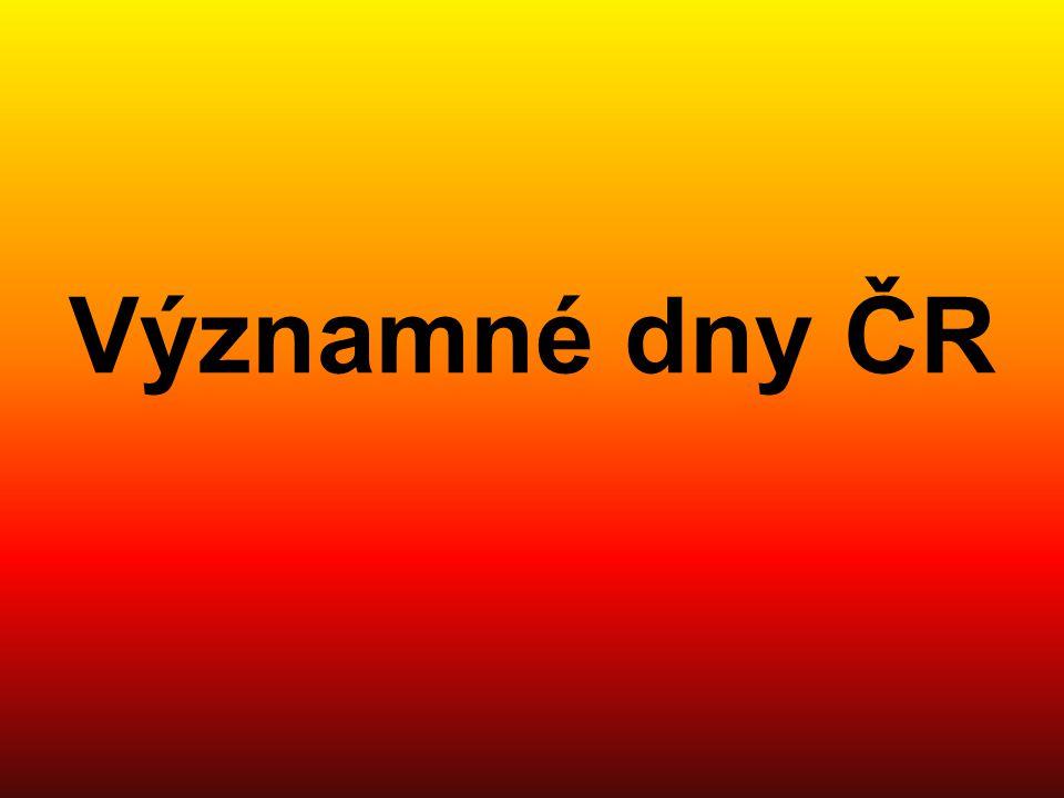 Významné dny ČR