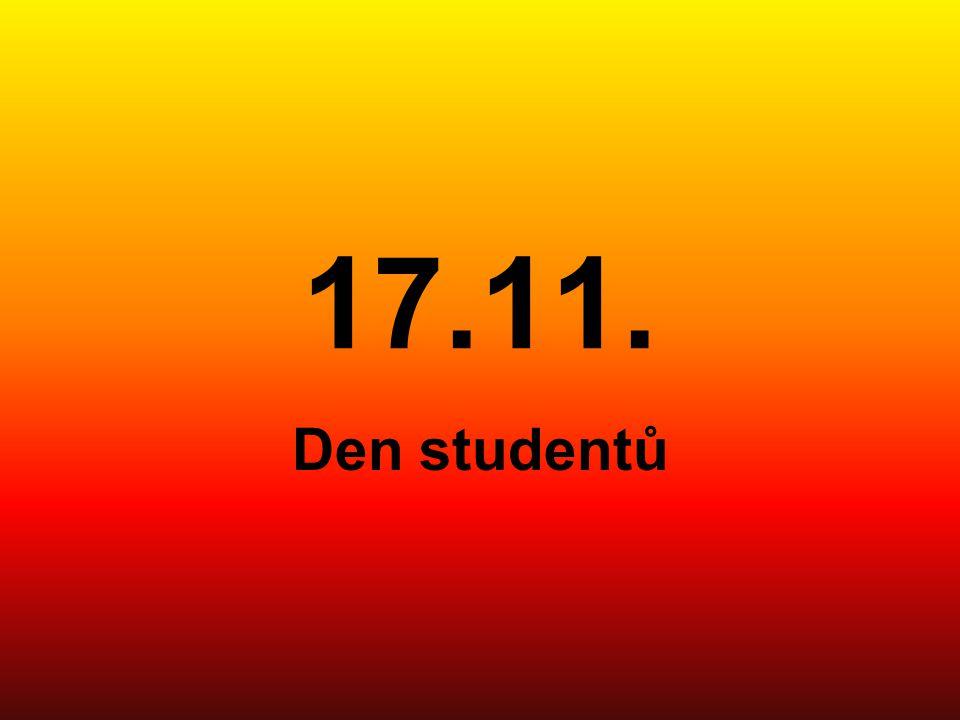 17.11. Den studentů