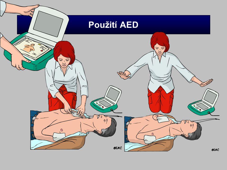Použití AED