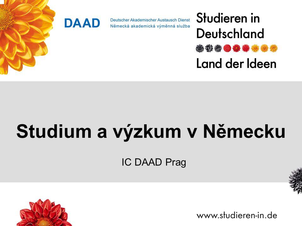 Studium a výzkum v Německu