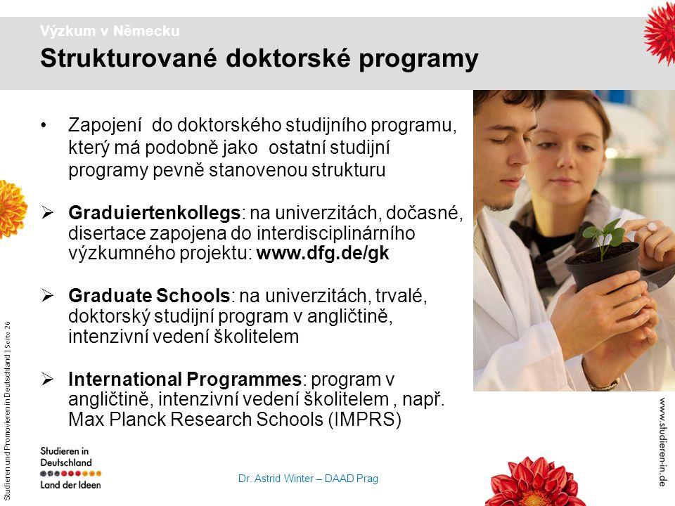 Strukturované doktorské programy