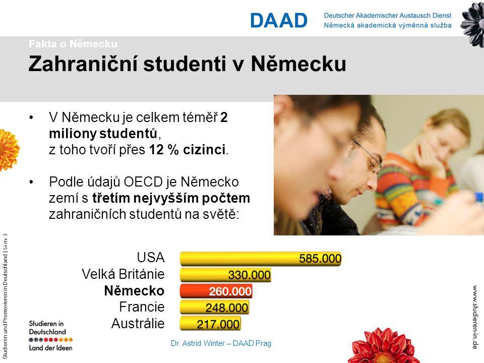 Zahraniční studenti v Německu