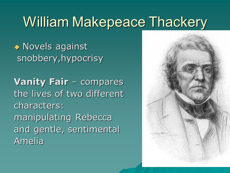 William Makepeace Thackery