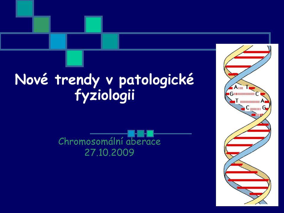 Nové trendy v patologické fyziologii