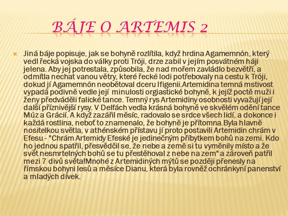 báje o artemis 2